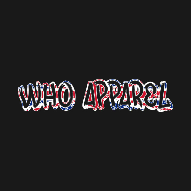 WHO Apparel UK (White Outline)