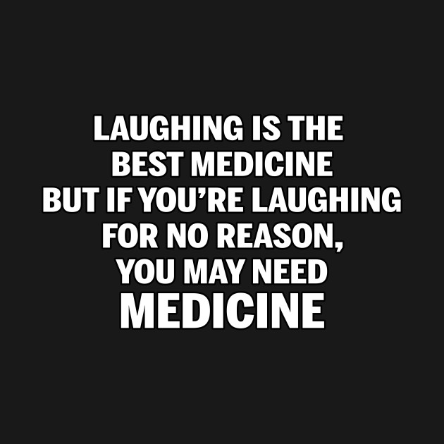 Laughing and medicine