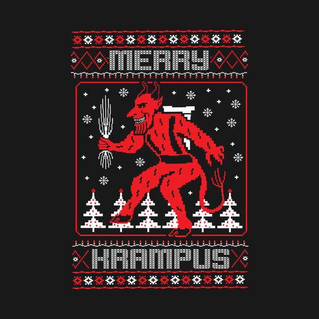 Krampus Ugly Sweater