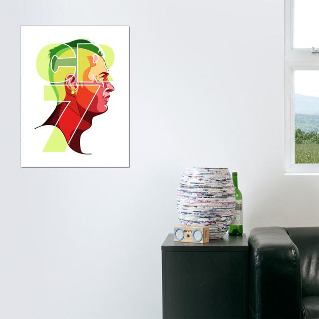 Cristiano ronaldo cr7 cristiano ronaldo wall art teepublic 611265 1 voltagebd Choice Image
