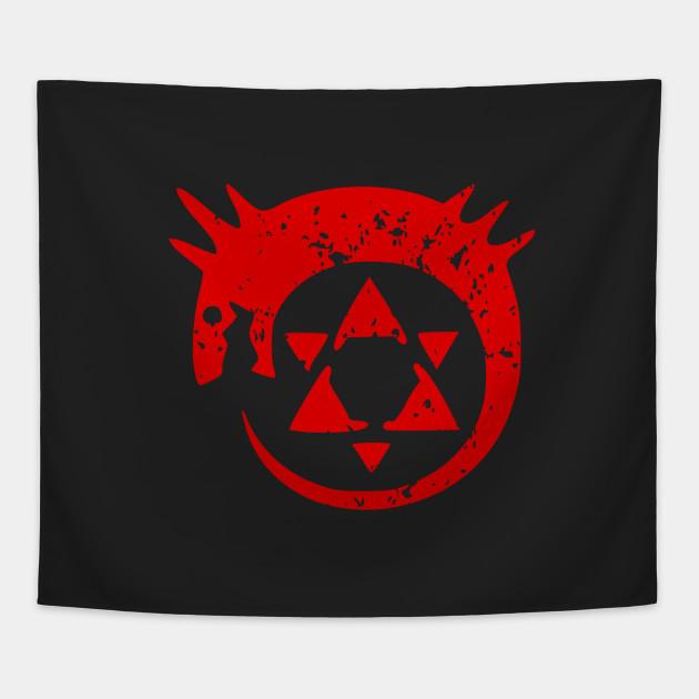 Homunculus Symbol Fullmetal Alchemist Tapestry Teepublic