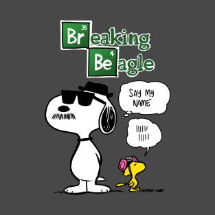 Breaking Beagle t-shirts