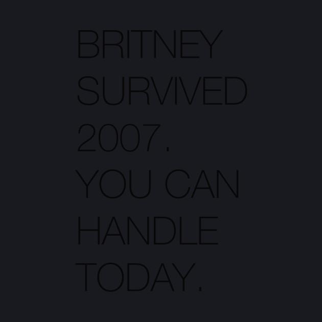 Britney Survived 2007