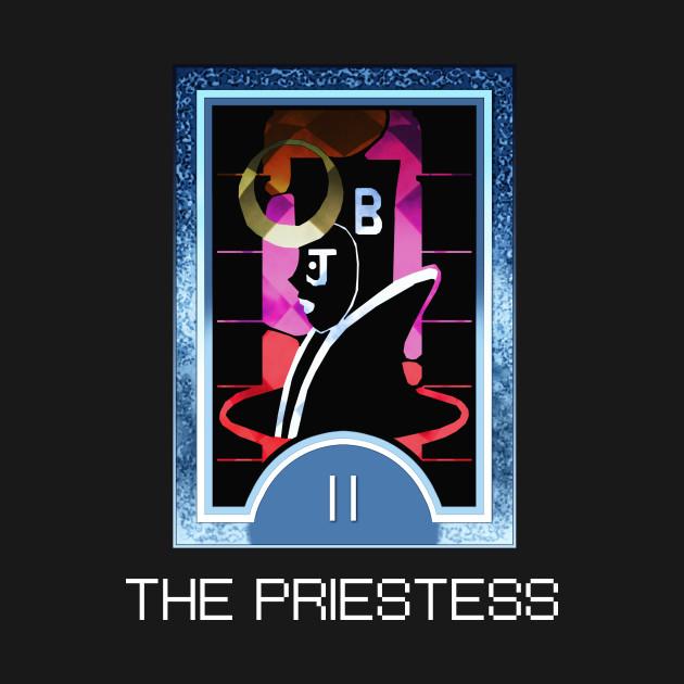 The Priestess Arcana Tarot Card