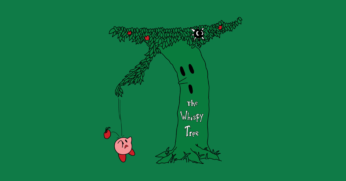 Shel Silverstein Wall Decal: The Whispy Tree - Kirby - T-Shirt