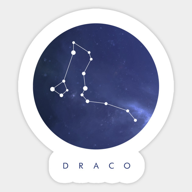 Draco Constellation by clothespin