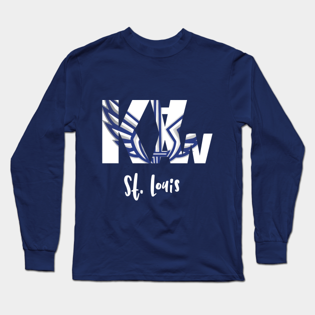 Louis XFL Ka-Kaw Men/'s Long Sleeve Tee Shirt S-5XL Details about  /Football St