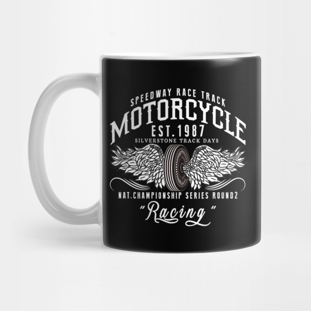 Speedway race track Motorcyle - Awesome fast motorcycle lover Gift