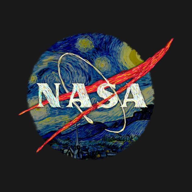 e051c93883b ... Long Sleeve T-Shirt. New!Back Print. Nasa Starry Night Nasa Starry Night