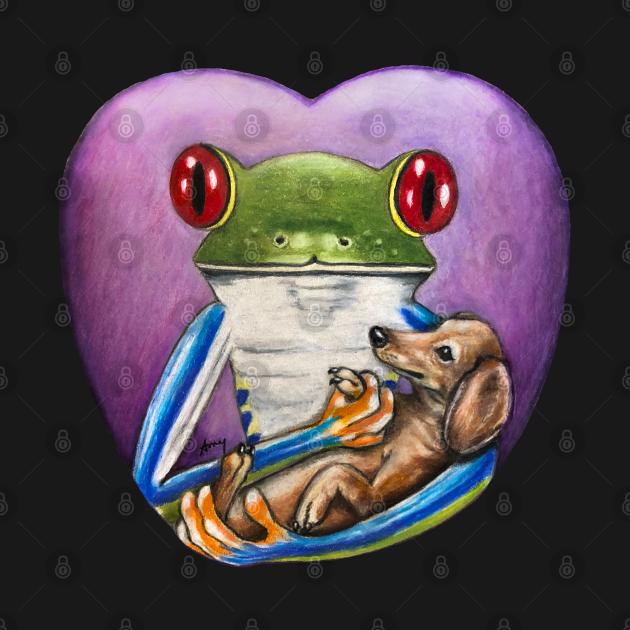 """Frog and Dog"" - Frog Life collection"
