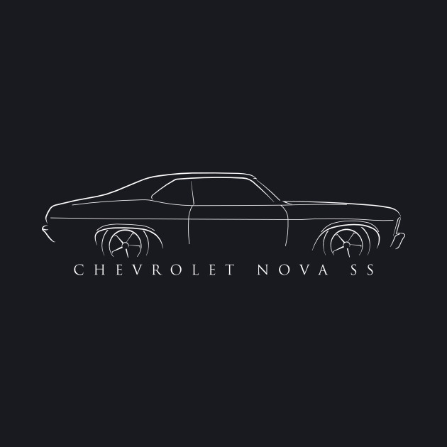 Chevy Nova SS Profile - Stencil