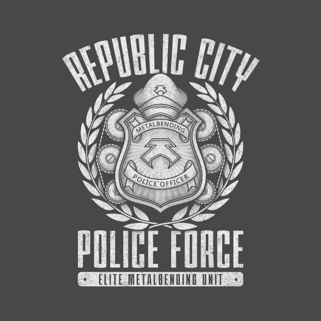 Republic City Police Force: Metal Is Enduring T-Shirt