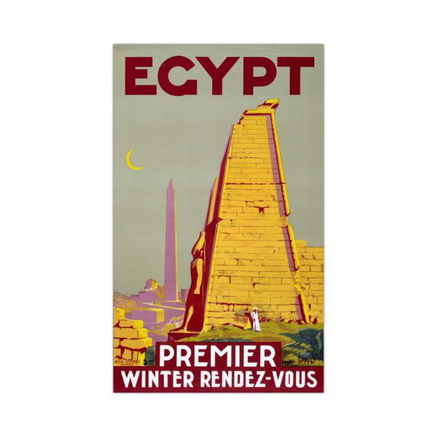 Vintage Travel Poster Egypt