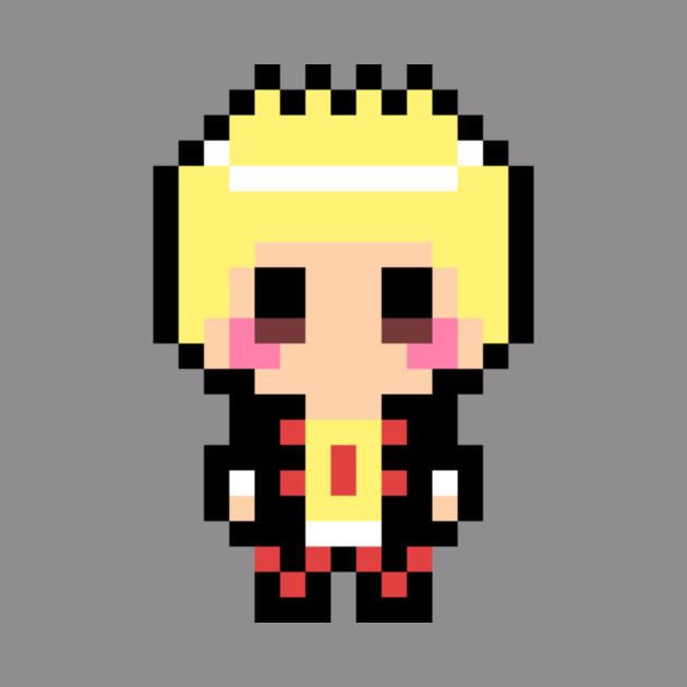 Persona 5 Ryuji Sakamoto 8 Bit Pixel Art Character