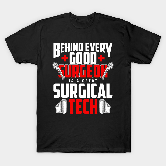 Clothing Big Grey Surgical Technician Shirt Tee Shirt
