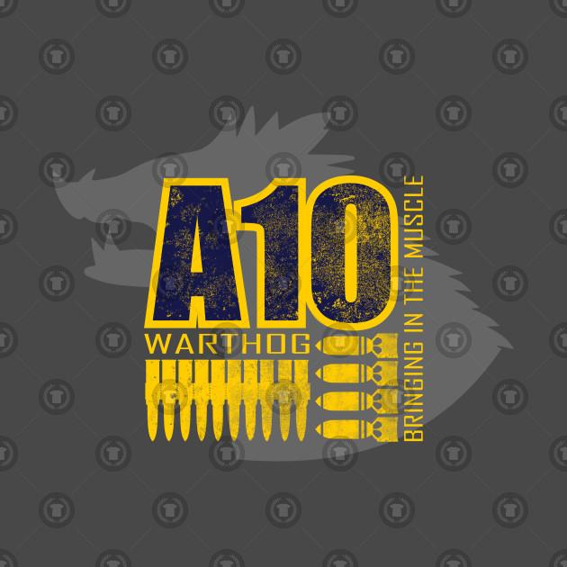 A-10 Warthog Distressed