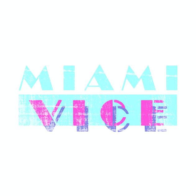 Miami Vice - worn look