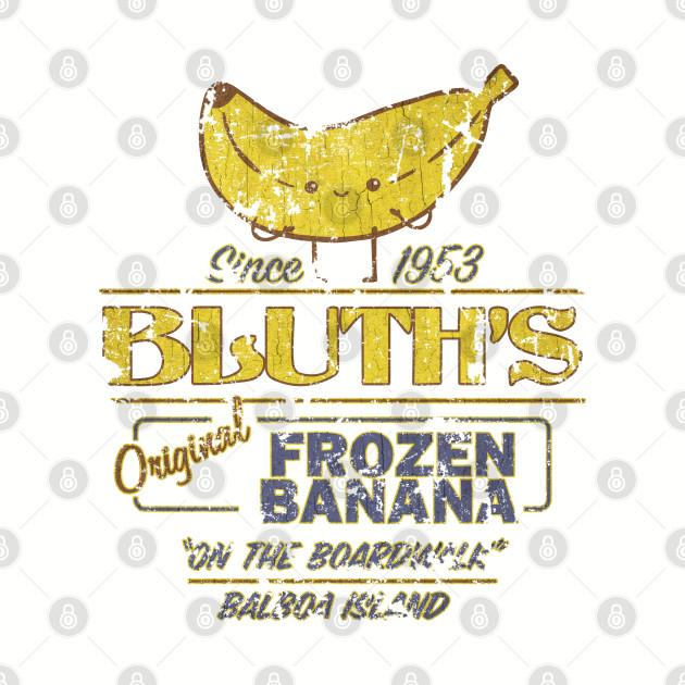 Bluth's Original Frozen Banana - Vintage