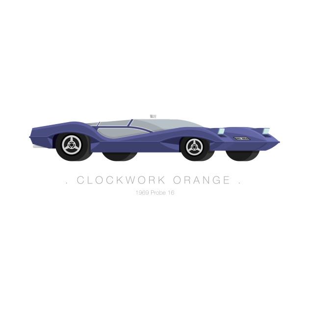 Clockwork Orange - Famous Cars