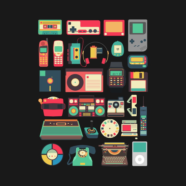 RETRO TECHNOLOGY 1 and 2