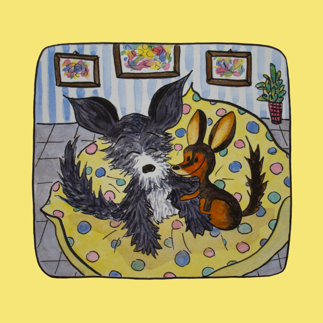 Two lovely brothers are MyOddFilippo's friends - Yellow