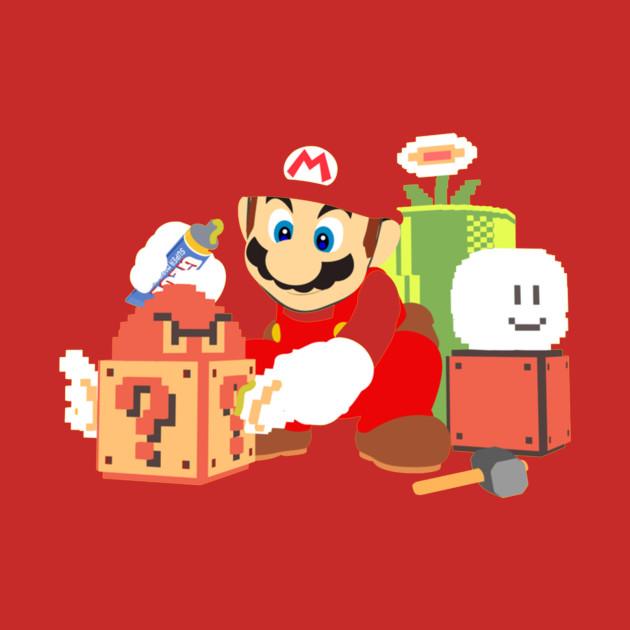 Super Mario Maker - Mario34thanniversary - T-Shirt TeePublic