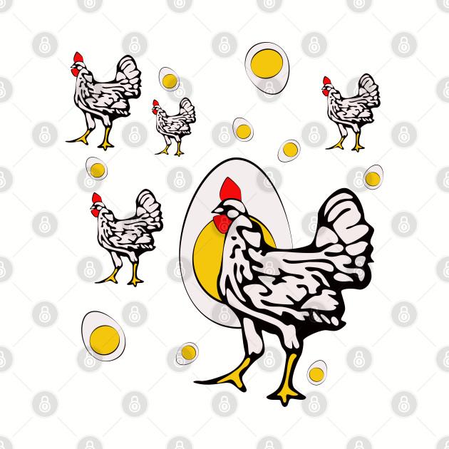 Roseanne Chicken, Retro Chickens