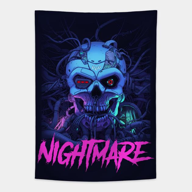 Nightmare Skull In Wires
