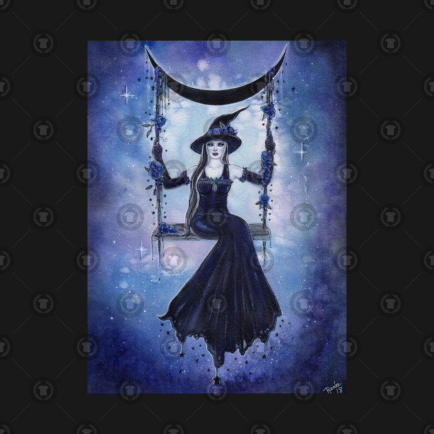 Moon Swing Witch By Renee Lavoie