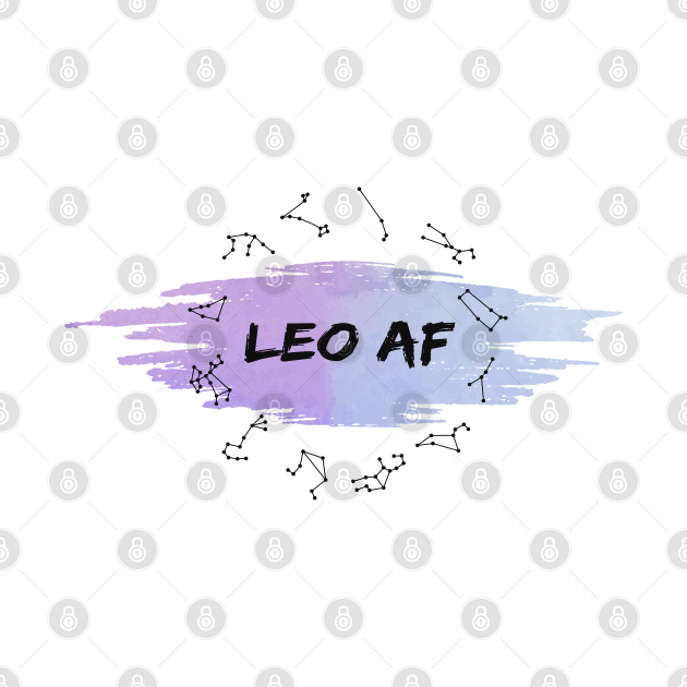 Leo Af : Spiritual Birth signs