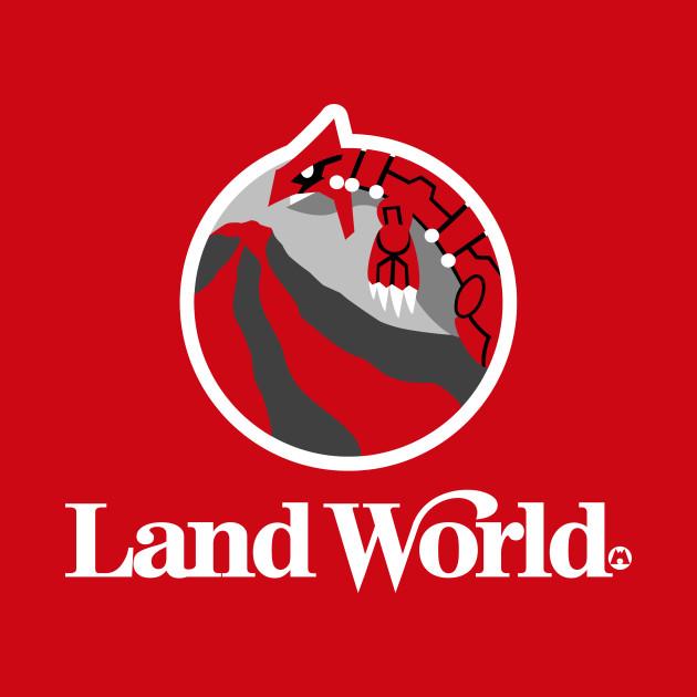 Land World Team Magma Tote Teepublic