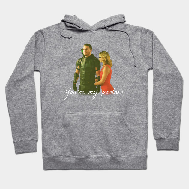 Olicity - You're My Partner Hoodie