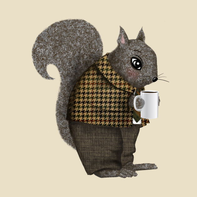 An Early Morning For Mister Squirrel