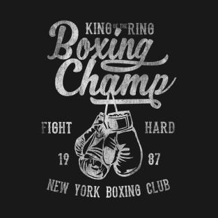 Boxing Champ t-shirts