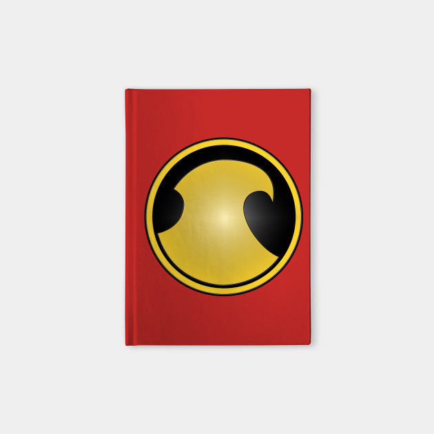 Red Robin Symbol Tv Notebook Teepublic