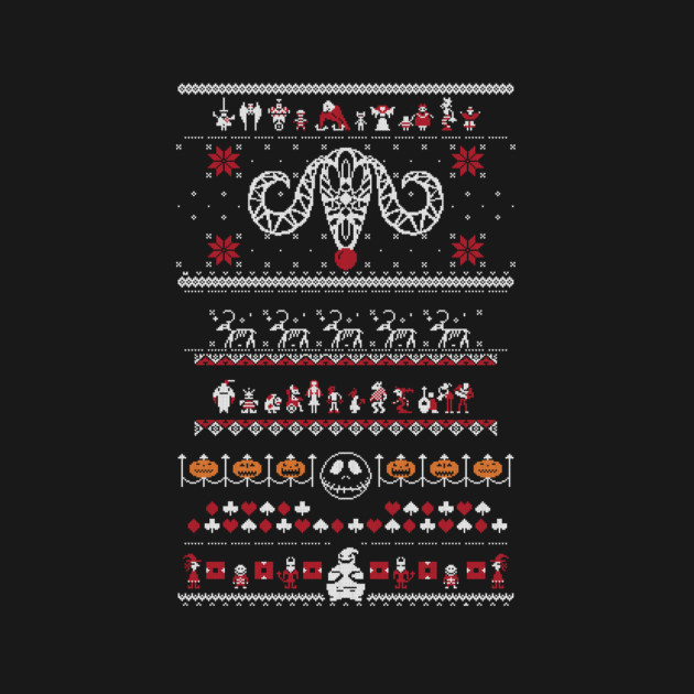 Nightmarish Xmas Sweater