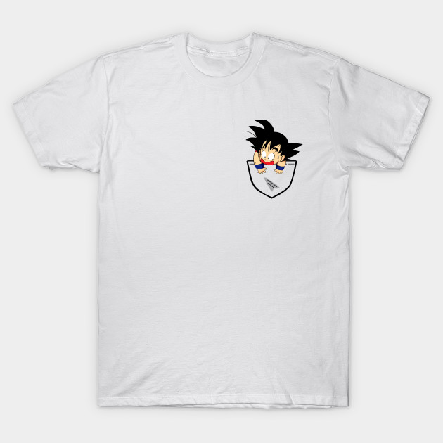Pocket Saiyan T-Shirt-TOZ