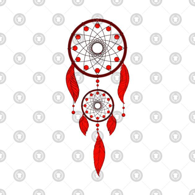 Red Dream Catcher
