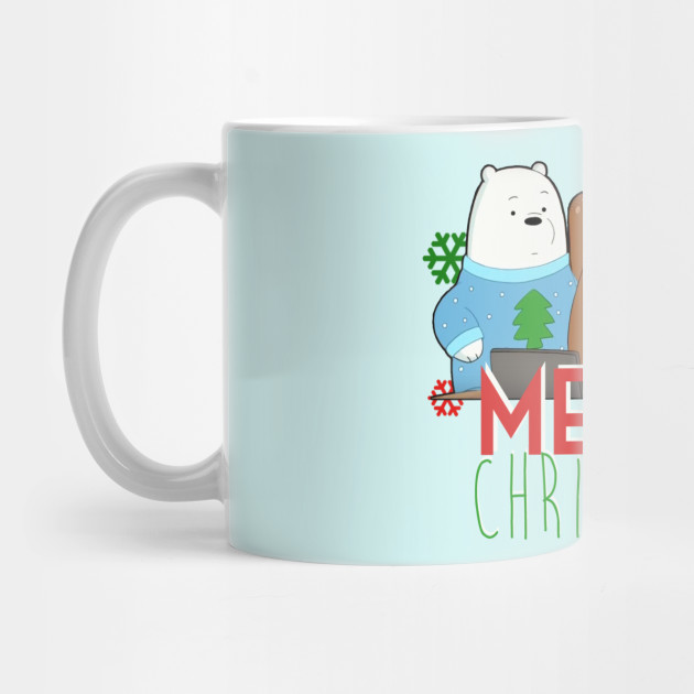 Merry Christmas Bears Mug