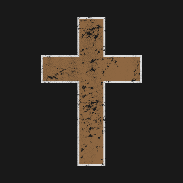 Crucifix Distressed Cross Religious Christian Catholic Protestant Symbol Believer