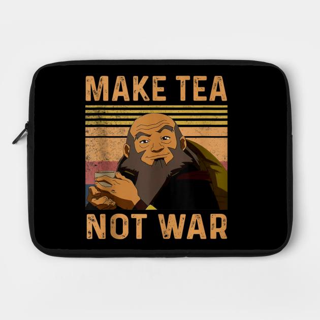 make tea not war peaceful samurai tea