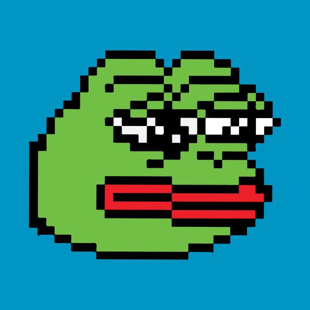 Pixelated Pepe