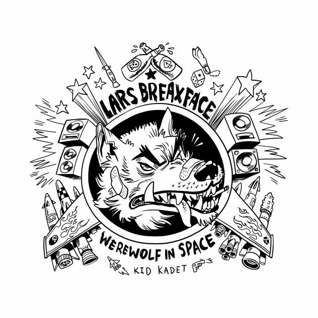 Lars Breaxface Werewolf in Space