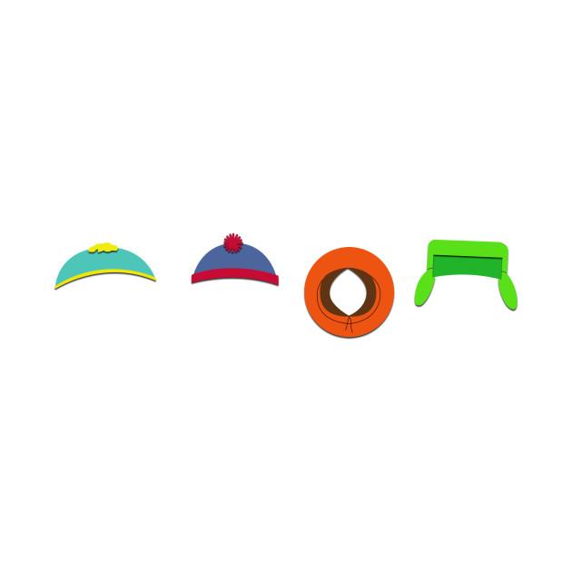 d65bceeb1eb South Park hats - South Park - T-Shirt