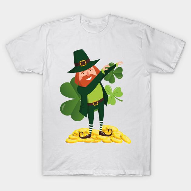 4fdb85e19 Funny Leprechaun Dab Dabbing St Patricks Day - St Patricks Day - T ...