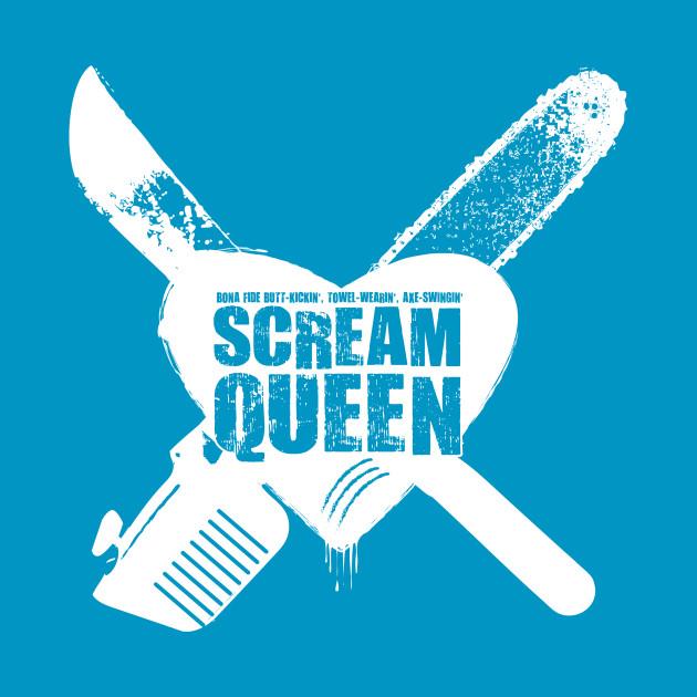 Scream Queen! (white)