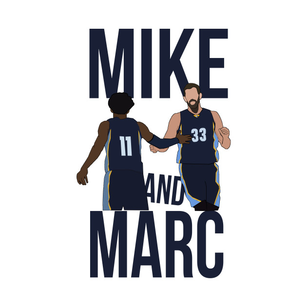 quality design 8bf7b 2f911 Mike Conely and Marc Gasol 'Mike x Marc' - Memphis Grizzlies