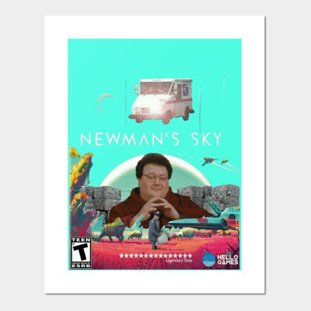 Newman s Sky - Seinfeld - Cartel e Impresión Artística  31f7ab2b185e4