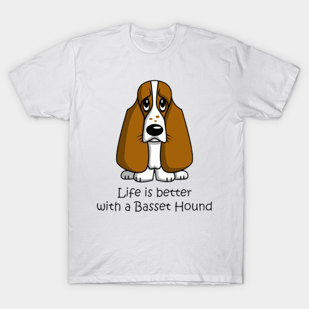 A Bassett Hound Is For Life Not Just For Christmas Kids Sweatshirt