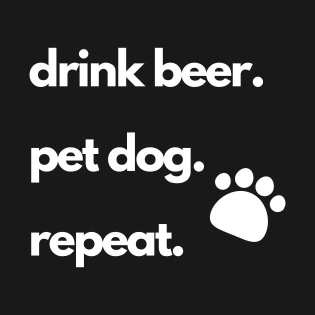 Drink Beer Pet Dog Design
